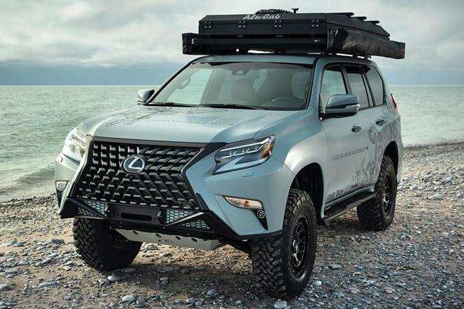 Cận cảnh GX Overland - concept SUV off-road siêu sang của Lexus - 1