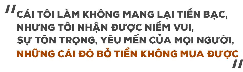 """""""Bác sĩ quốc dân"""" Trần Quốc Khánh: """"Tình cảm dành cho nhau không đong đếm bằng chén rượu đầy"""" - 7"""
