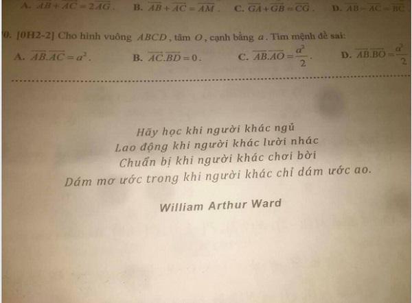Giao bài tập Tết, thầy giáo để lại câu này khiến học trò đang ngủ cũng bật dậy làm tức khắc - 1