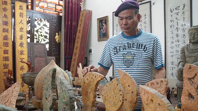 """Lão nông Nam Định kể lại hành trình """"săn lùng"""" hàng nghìn cổ vật - 1"""