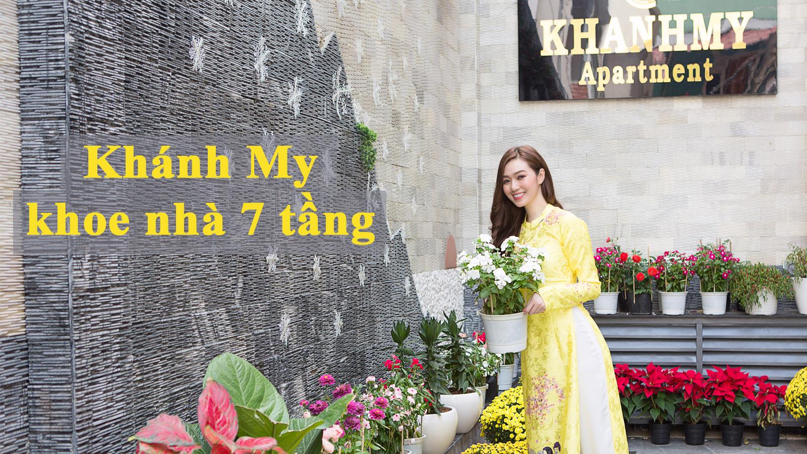 Khánh My khoe nhà 7 tầng, hơn 40 phòng ở Sài Gòn - 1