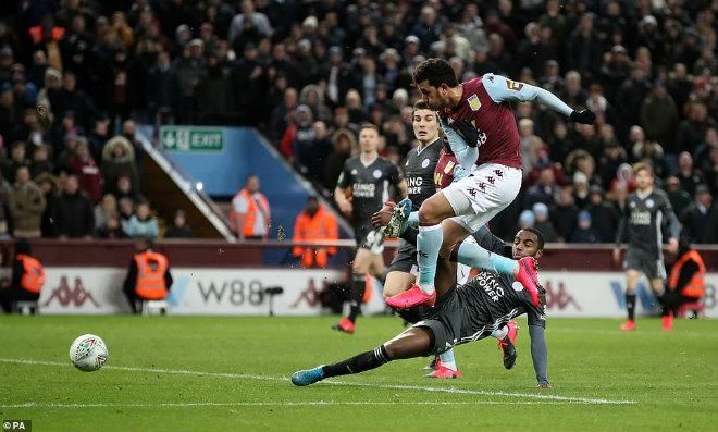 Video highlight trận Aston Villa - Leicester City: Vỡ òa phút 90+3, nghẹt thở vào chung kết - 1