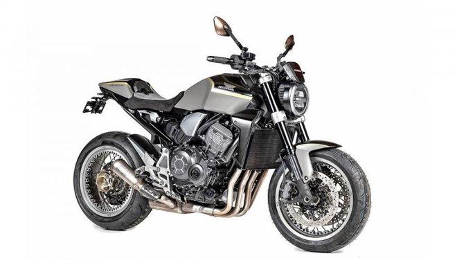 Honda CB1000R Stardust: Siêu naked bike kỷ niệm ngày Neil Armstrong đặt chân lên Mặt Trăng - 1