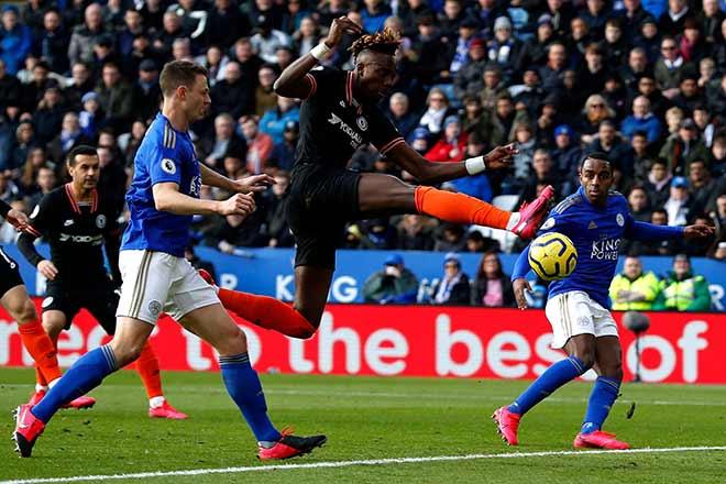 Video highlight trận Leicester City - Chelsea: Hiệp 2 rượt đuổi, cơ hội vàng phung phí - 1