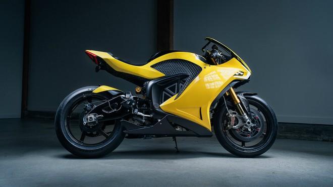 Choáng với môtô điện tối tân nhất thế giới, thích ứng với mọi đường đi - 1