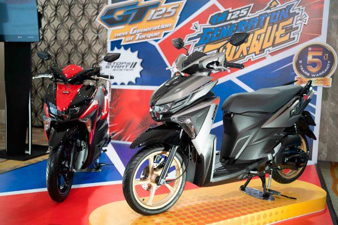 Xe ga mới 2020 Yamaha GT125 ra mắt, đối đầu Honda Air Blade - 1