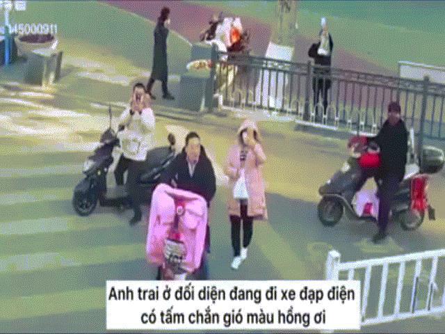 Clip: Cảnh sát TQ dùng flycam nhắc nhở người dân đeo khẩu trang