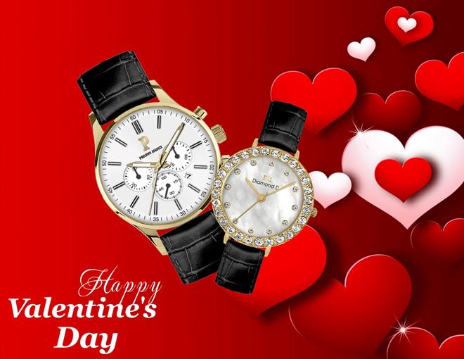 Những mẫu đồng hồ đôi được yêu thích dịp Valentine 2020 - 1