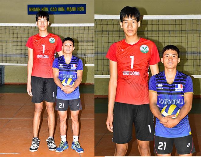 VĐV bóng chuyền 18 tuổi 2m10 cao nhất Việt Nam: Chắn lưới không cần bật nhảy - 1