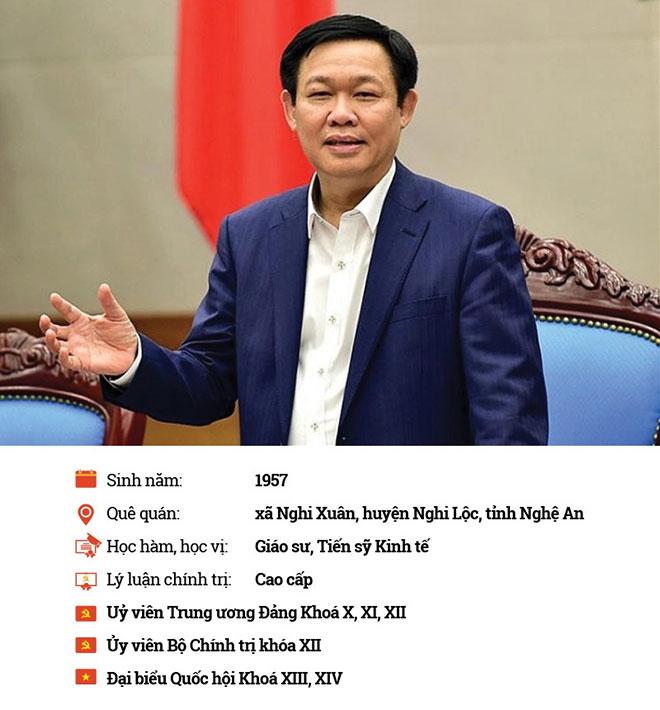 Ông Vương Đình Huệ làm Bí thư Hà Nội thay ông Hoàng Trung Hải - 1