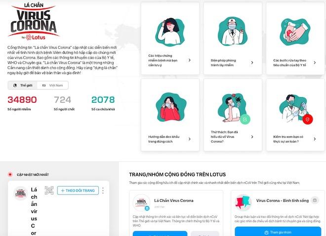 """Mạng xã hội Việt công bố chiến dịch """"Lá chắn virus Corona, bình tĩnh sống"""" - 1"""
