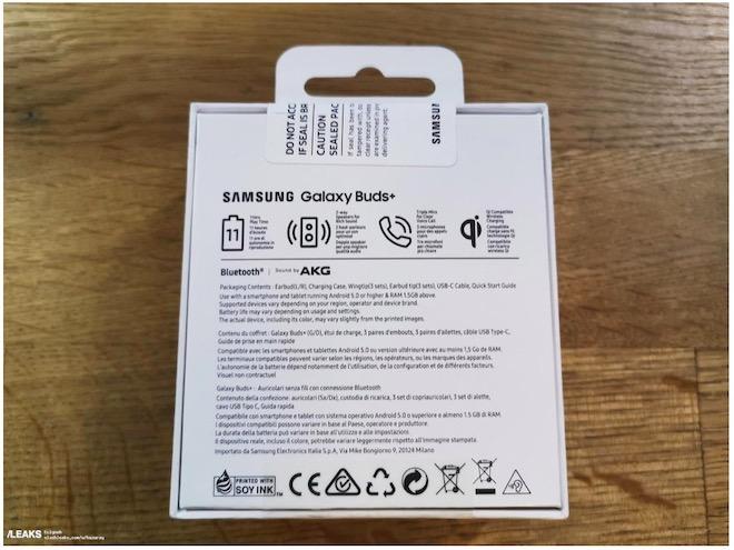 Lộ ảnh và thông tin đáng mong chờ của tai nghe không dây Samsung Galaxy Buds+ - 2
