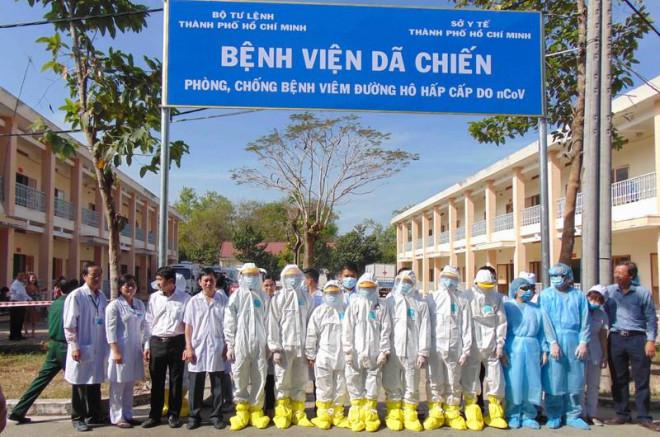 Dịch Corona: Bệnh viện dã chiến ở TP.HCM chính thức hoạt động - 1