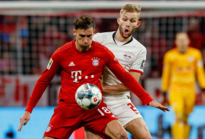 Video highlight trận Bayern Munich - Leipzig: VAR từ chối 11m, tiếc nuối phút 80 - 1