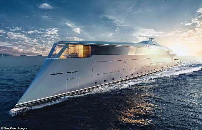 Ảnh: Chiêm ngưỡng siêu du thuyền 645 triệu USD, chạy bằng hydro lỏng của tỷ phú Bill Gates - 1