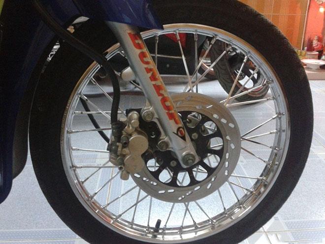 Có nên thay lốp không săm cho xe máy số không? - 1