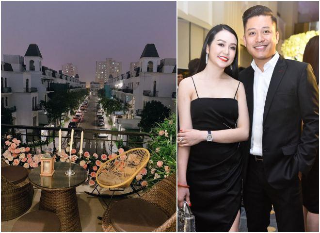 Hé lộ nội thất sang trọng ở biệt thự tiền tỷ của Tuấn Hưng và vợ hot girl - 1