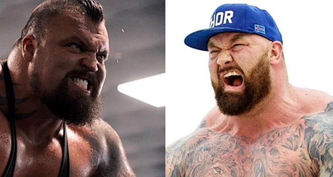 """""""Thần Thor"""" 193kg đấu boxing """"Quái thú"""" 164kg: So tài kinh thiên động địa - 1"""