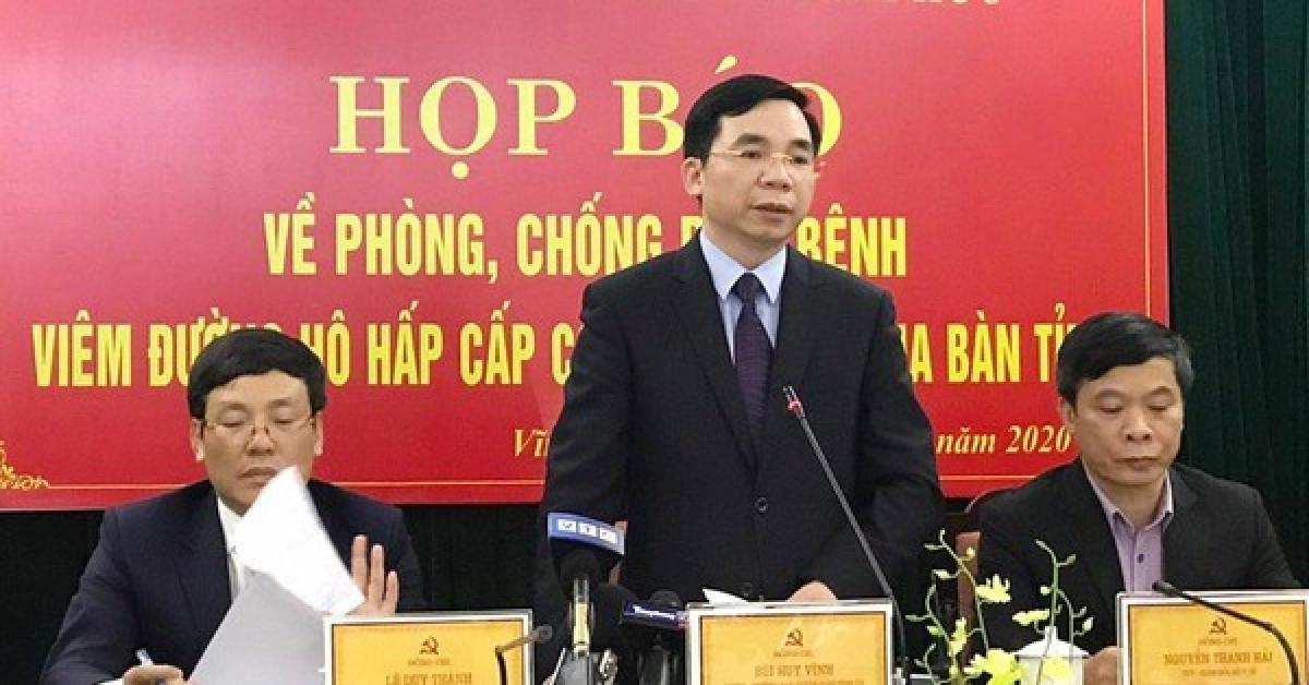 Vĩnh Phúc họp báo: Đang nghiên cứu trường hợp nữ công nhân về từ Vũ Hán lây bệnh cho 5 người khác - 1