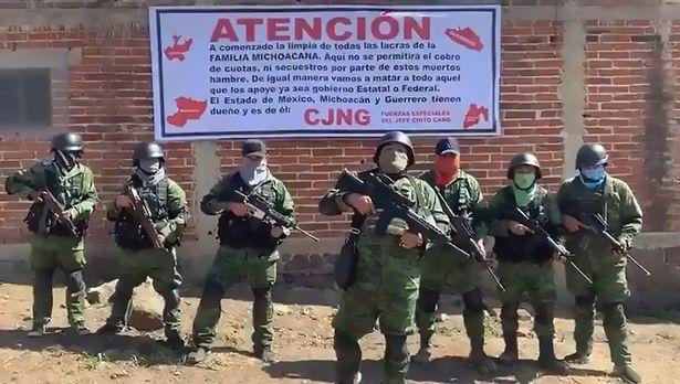 Video: Băng đảng nguy hiểm nhất Mexico dọa sát hại các quan chức bao che băng đối thủ - 1