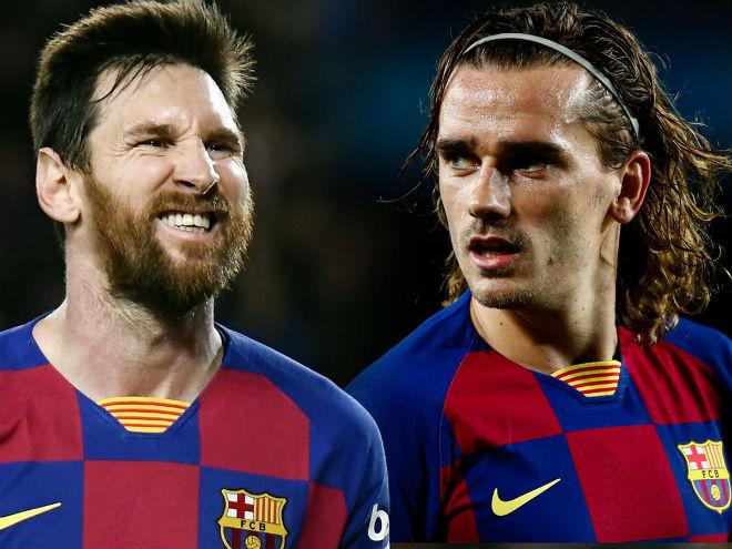 """Nội bộ Barca nóng như lửa: Griezmann nói xấu Messi, tố bị """"ông trùm"""" cô lập - 1"""