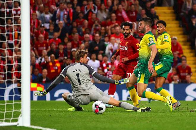 Nhận định bóng đá Norwich City – Liverpool: Siêu kỷ lục chờ Salah chinh phục - 1