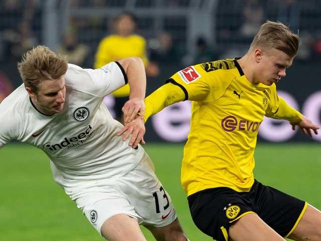 Video highlight trận Dortmund – Frankfurt: Hiệp 2 tưng bừng, tạm chiếm ngôi nhì - 1