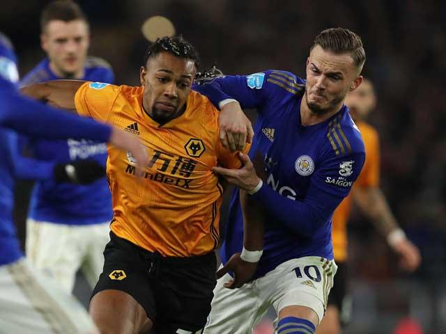 Video highlight trận Wolves – Leicester: VAR gây tranh cãi, thẻ đỏ nuối tiếc - 1