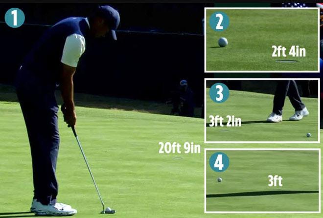 Tiger Woods vừa chơi vừa chỉ đạo: Gạt trượt cự ly gần khó tin, tệ nhất 22 năm - 1