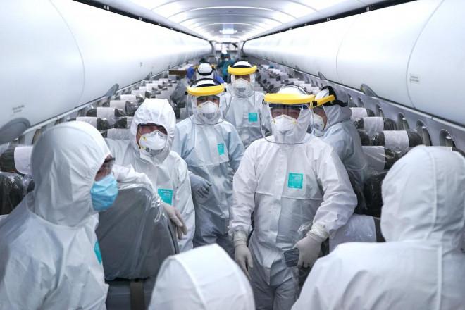 Thông tin mới về sức khỏe tổ bay thực hiện chuyến bay đến Vũ Hán - 1