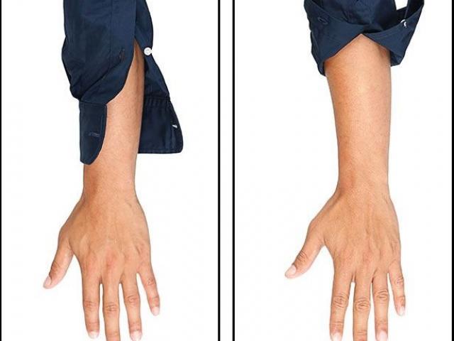 Xắn tay áo sơ mi như thế nào cho đúng?