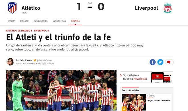 Liverpool nguy cơ thành cựu vương Cúp C1: Báo quốc tế nói gì về cơ hội ngược dòng? - 1