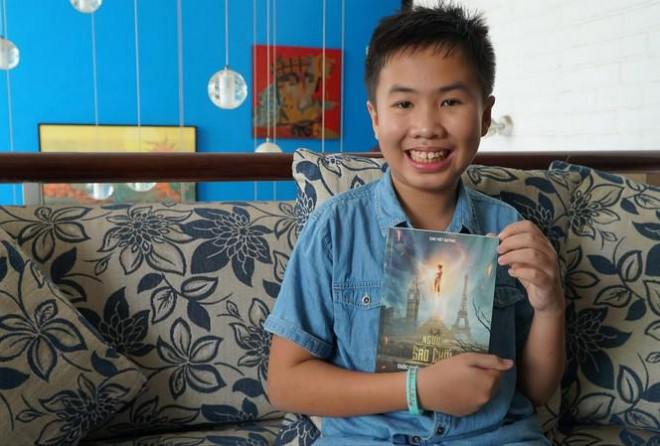 Cậu bé Việt 12 tuổi ra tiểu thuyết giả tưởng - 1