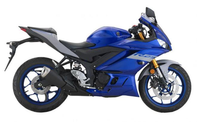 2020 Yamaha YZF-R25 đổi màu mới, đánh thức đam mê môtô thể thao - 1