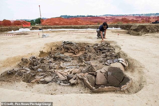 """Xây nhà, đào được… """"hoàng tử ma"""" 2.700 tuổi trên xe ngựa đầy châu báu - 1"""