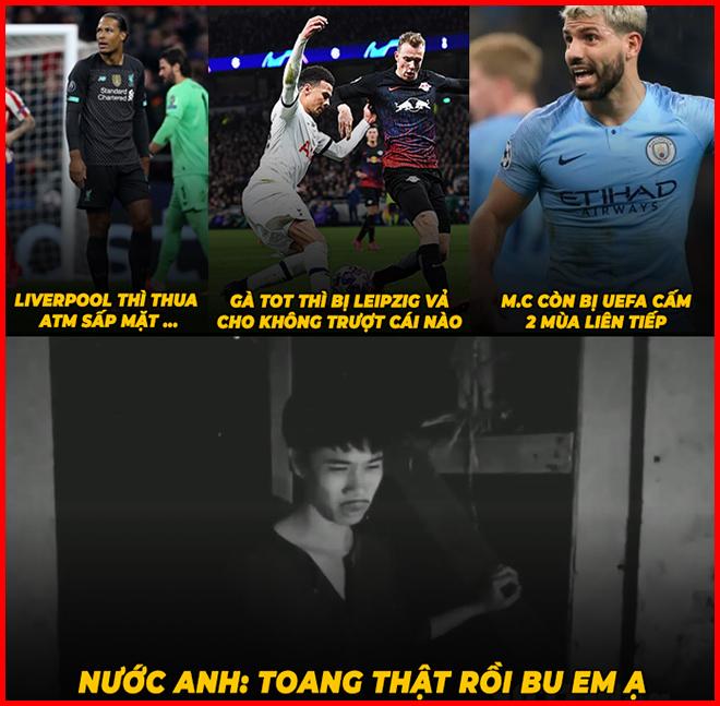 """Các đội bóng Anh đang """"lao đao"""" ở vòng knock-out cúp C1 - 1"""