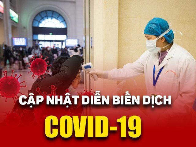 DịchCovid-19 ngày 21/2: Số ca bệnh ở Hàn Quốc tăng mạnh, lên 156 người