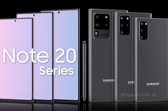 Đến phiên ý tưởng Galaxy Note20 phô diễn làm điên đảo Samfan - 1
