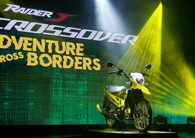Suzuki trình làng Raider phong cách crossover bụi bặm, giá chỉ 29 triệu đồng - 1