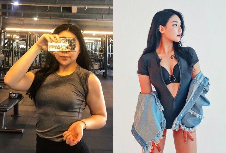 Hành trình giảm cân của cô thư ký đại biểu Quốc hội Hàn - 1