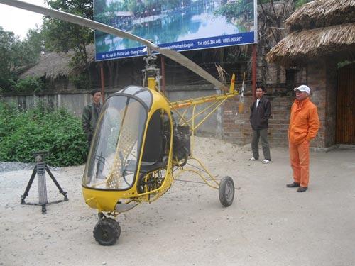 """Chuyện ít biết về thợ cơ khí từng chế tạo trực thăng """"made in Việt Nam"""" - 1"""