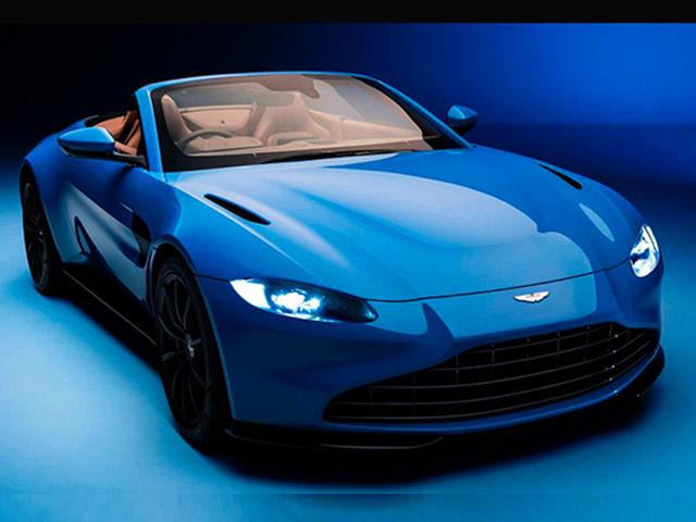 Hãng Aston Martin ra mắt xe mui trần Vantage Roadster