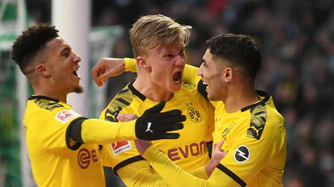 "Video highlight trận Werder Bremen - Dortmund: Haaland lại ""nổ súng"" - 1"