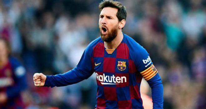 Kinh ngạc Messi bùng nổ không tưởng: Solo huyền ảo & cú poker thần thánh - 1