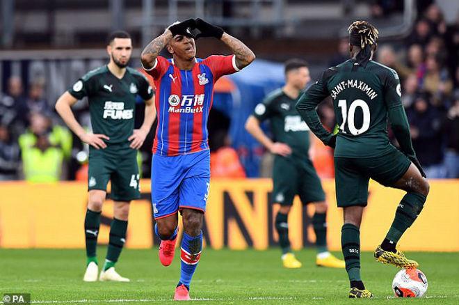 Video highlight trận Crystal Palace - Newcastle: Siêu phẩm định đoạt, thẻ đỏ đắng cay - 1