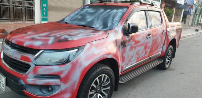 Điều tra vụ 2 đối tượng bịt mặt phá hoại ô tô của nhà báo ở Quảng Ninh - 1