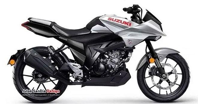 """""""Huyền thoại"""" Suzuki Katana tái sinh với phiên bản 150 gây phấn khích - 1"""