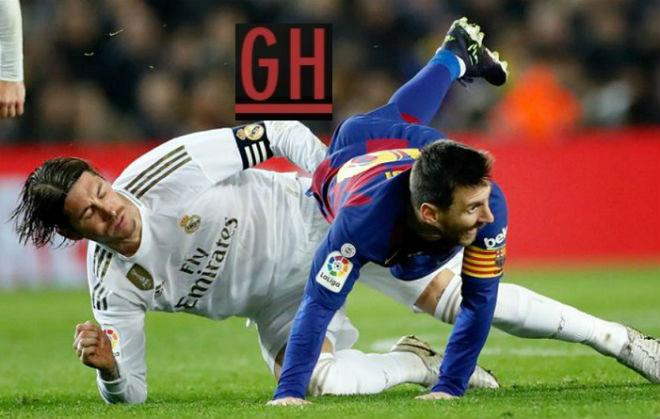 """Real lâm nạn, Barca - Messi mừng thầm """"Siêu kinh điển"""": Ác mộng 2-6 lặp lại? - 1"""
