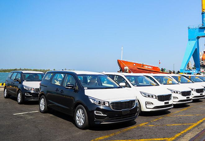 Thaco xuất khẩu 40 xe KIA Grand Carnival sang thị trườngThái Lan - 1