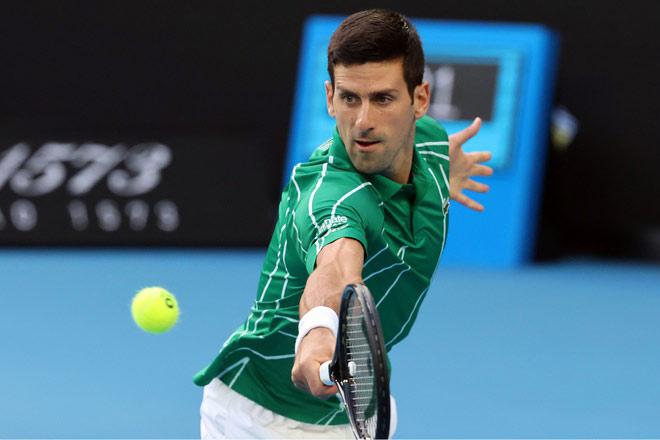 "Video tennis Djokovic - Jaziri: ""Màn tra tấn"" trong 1 giờ - 1"